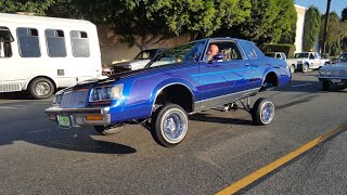 LOWRIDERS AND SPORT CARS L.A. SUNDAY FUNDAY