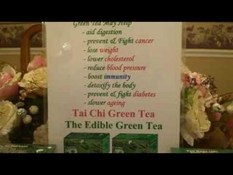 Green Tea Health Benefits - the edible green tea