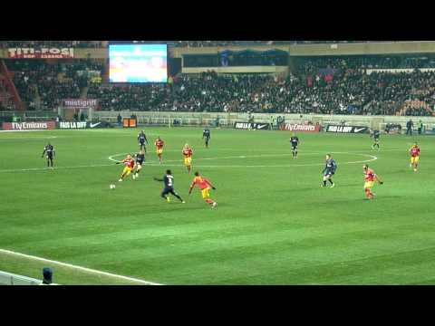 PSG / Lens, Paris Parc des Princes, But de Makelele - 16.12.2009