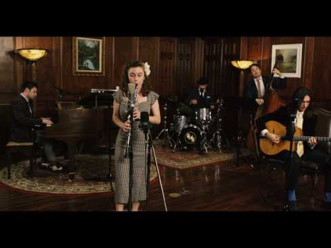 No Surprises - Vintage 1930s Jazz Radiohead Cover ft. Chloe Feoranzo