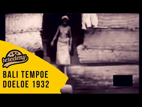 Bali Tempo Doeloe 1932 video