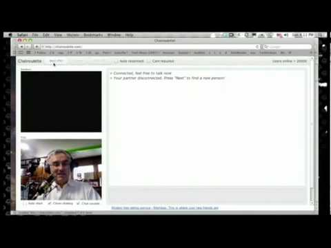 Leo Laporte plays Chatroulette on TWIT, Gets a Surprise (Short Cut)