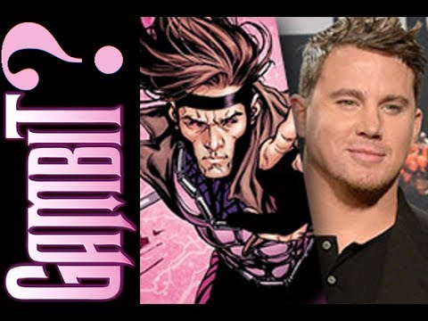 Comic Uno Channing Tatum as Gambit in Future X-men Movies? (Reaction Video)