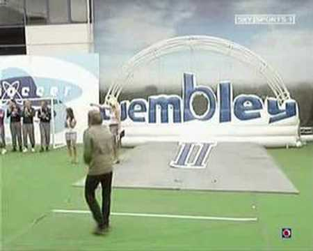 Serge (Kasabian) wonder goal on Soccer Am's Road to Wembley