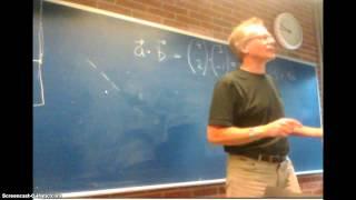 vinklen mellem 2 vektorer