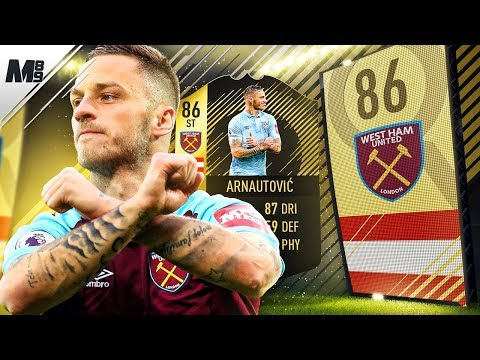FIFA 18 SIF ARNAUTOVIC REVIEW | 86 SIF ARNAUTOVIC PLAYER REVIEW | FIFA 18 ULTIMATE TEAM