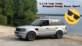 Worlds First Range Rover Sport Twin Turbo LS Swap Overview / For Soccer Moms In A HURRY!