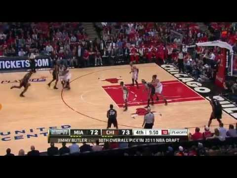 NBA Playoffs Conference 2013: Miami Heat Vs Chicago Bulls Highlights May 10, 2013 Game 3