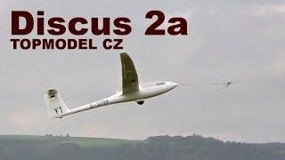 Discus 2a, scale RC glider, TOPMODEL CZ, 2018