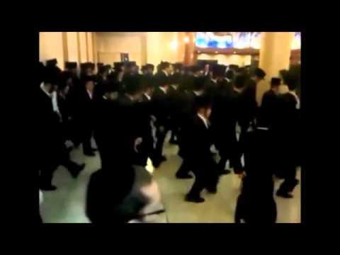 Смешные танцы на еврейской свадьбе