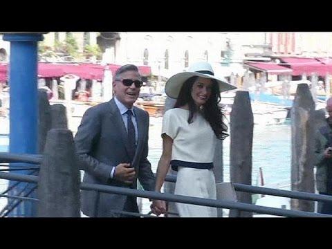 George Clooney et Amal Alamuddin sont officiellement mariés !