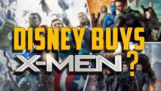 DISNEY BUYS X-MEN? - Movie Podcast