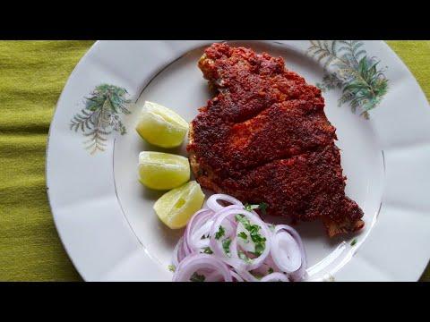 Pomfret fish fry/crispy fish fry recipe/Indian fried fish recipe