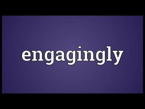 Header of engagingly