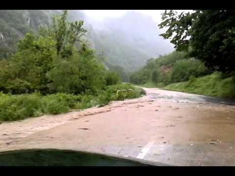 Poplava 15.5.2014 put Gornjak-Petrovac