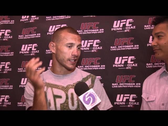 Donald Cerrone UFC 137 Pre-Fight Interview