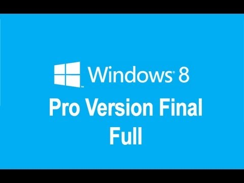 Descargar windows 8 pro Final version 32 y 64 bits