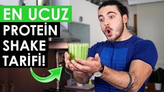 EN UCUZ Protein Shake Tarifi! - (2₺'ye 40 gram proteinli içecek)