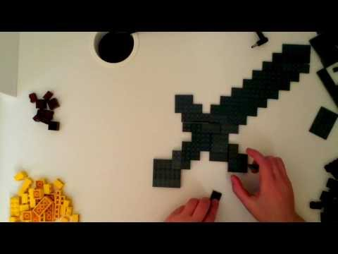 Lego Minecraft - Golden Sword Tutorial