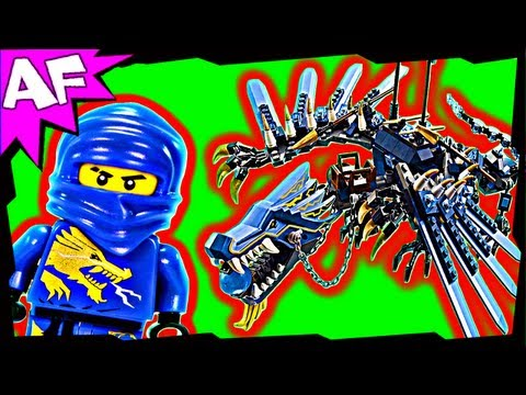 LIGHTNING DRAGON Battle 2521 Lego Ninjago Stop Motion Set Review