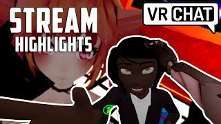 Aleks Plays VRCHAT • Meeting Sly, Sp00n, Ze and Criken • STREAM HIGHLIGHTS (01/08/18) • ImmortalHD