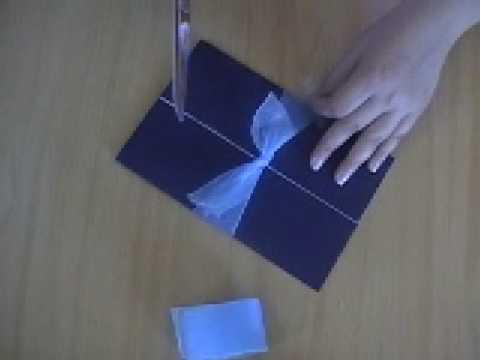Manualidades para Bodas: Como hacer un nudo sencillo