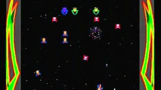 Galaga Gameplay