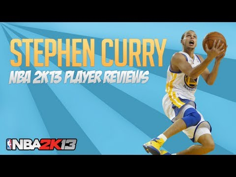 NBA 2k13 Stephen Curry 82 Ovr Player Review