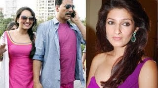 Akshay's Hot Wife Twinkle Upset With Sonakshi Sinha