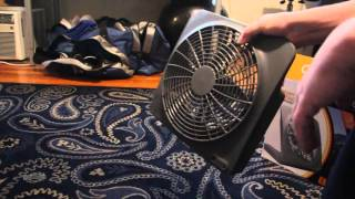 O2COOL® 10-Inch Portable Fan with AC Adapter [Review]