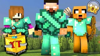 JUGANDO con 100 YOUTUBERS en MINECRAFT BATTLE ROYAL | #UHCYoutuber