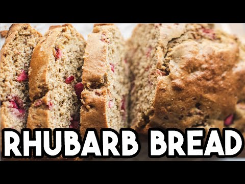 Rhubarb Bread Recipe By Little Lulu Cooking Part 1