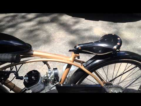 Motor Bike DIY Review (Brooks leather saddle. Fork stand. Speedometer. and custom seat layback!0