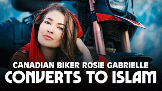Canadian Biker Rosie Gabrielle Converts to Islam After Visiting This Muslim Country! ????