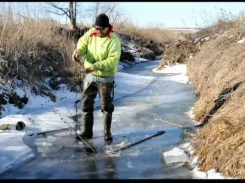 Beaver Trapping Under Ice with Magnum Power Clips