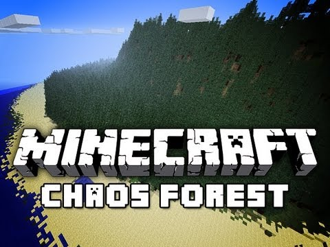 Minecraft: Chaos Forest Adventure Map w/ Jerome #1