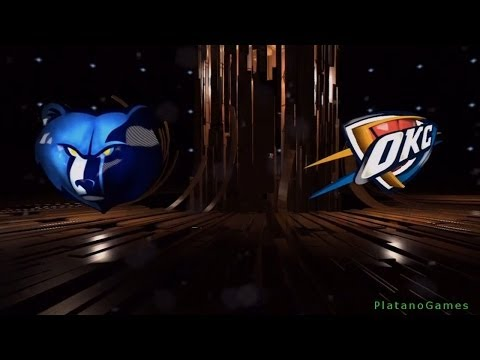 NBA Playoffs - Memphis Grizzlies vs Oklahoma City Thunder - Game 7 - 1st Half - Live 14 - HD