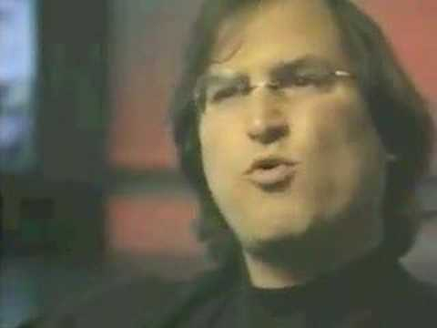 Steve Jobs on Microsoft Music Videos