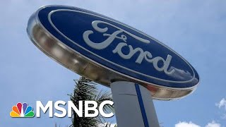 What's Behind Ford's Elimination Of 7,000 Jobs Worldwide? | Hallie Jackson | MSNBC