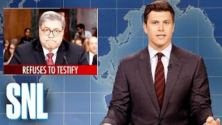 Weekend Update: William Barr's Senate Testimony - SNL