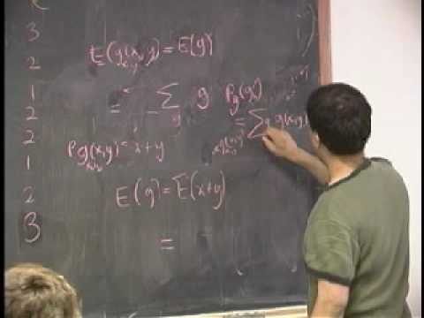 Lecture 3 - Conditional PMFs, Probability Density Functions (Part 3/5)