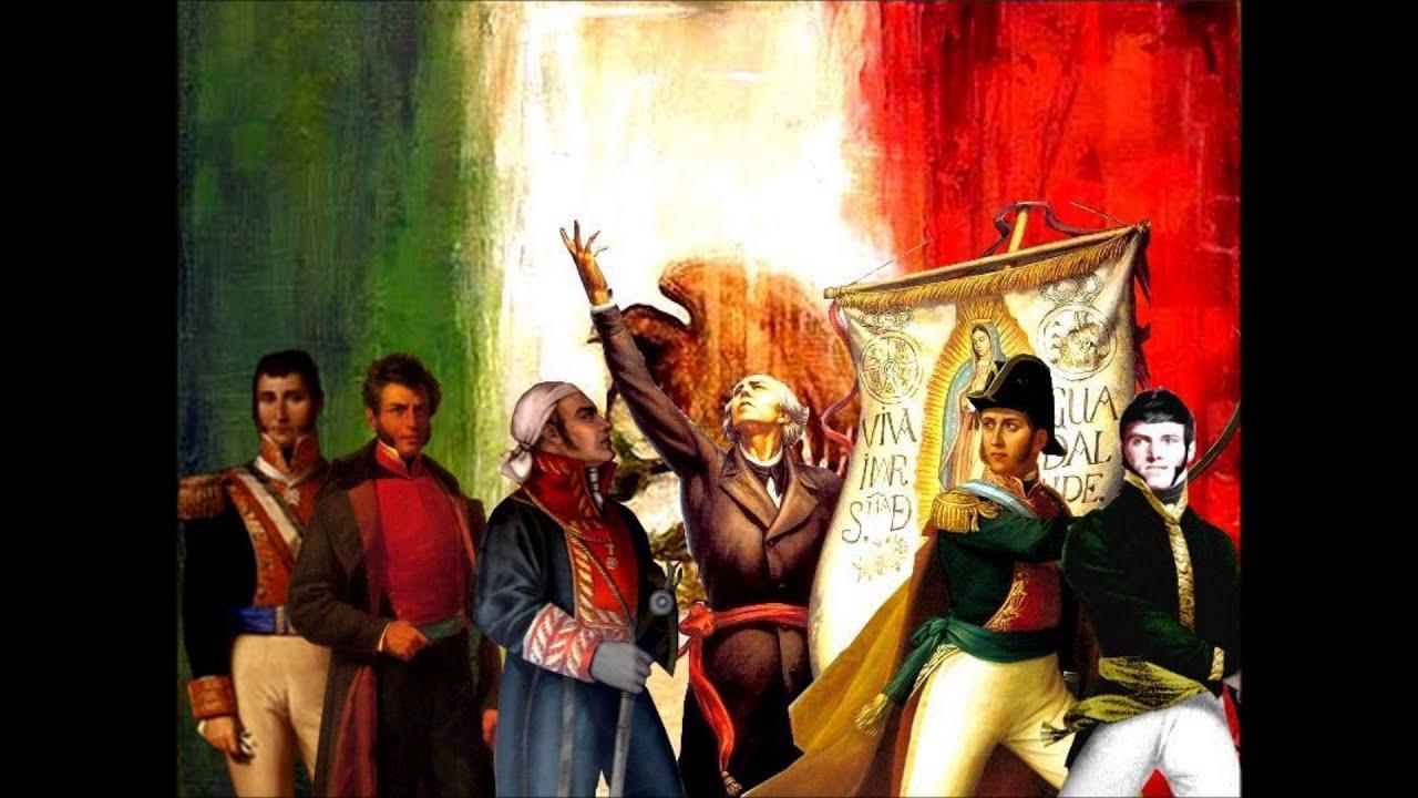 Independencia de México in Google Doodle