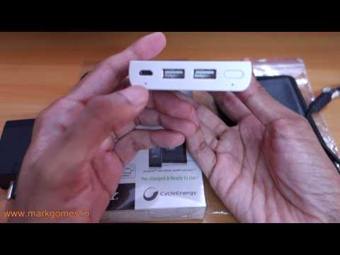 Sony Power Bank CP F10L Review Battery Pack