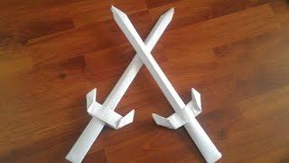 Kağıttan Kılıç Yapımı / How to Make a Paper Sword