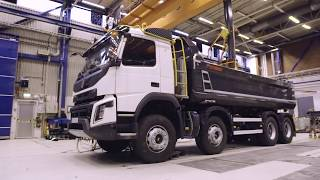 Volvo Trucks - Extreme weight testing of the Volvo FMX