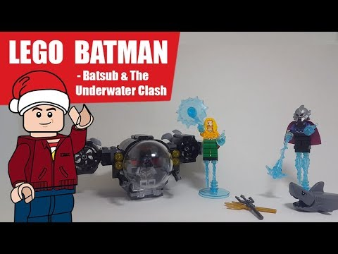 LEGO Batman Batsub And the Underwater Clash 76116 Set Review