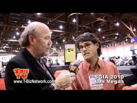 Scott Fresener Interviews David Landesman of Lawson at SGIA 2010 Las Vegas