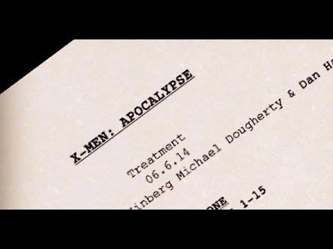 Bryan Singer Teases X-MEN: APOCALYPSE Script Photo - AMC Movie News