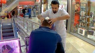ASMR BODY & HEAD MASSAGE ( High Technique Chair Massage 2019)