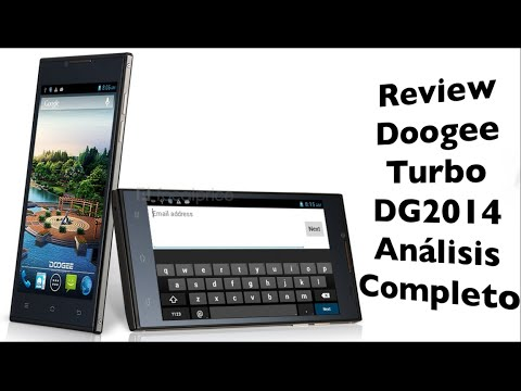 Review Doogee Turbo DG2014   Análisis completo